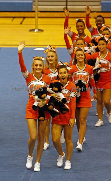 Cheerleaders National District Finals 10/25/11