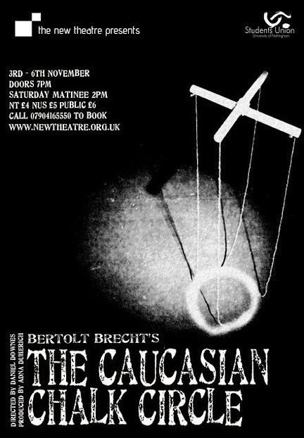 Caucasian Chalk Circle poster