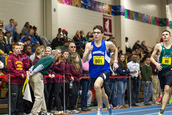 600 meters -- 2013 MIAA Indoor Track All-State Championship