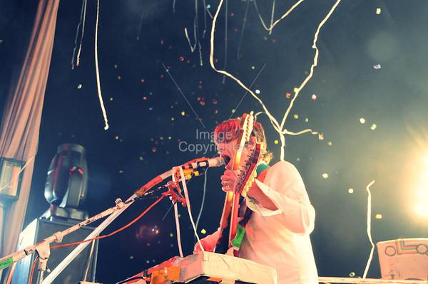 Steven Drozd, Flaming Lips Freakout 5. Night 2. January 1, 2012. Oklahoma City, Oklahoma.