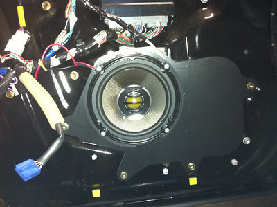 1999 Lexus GS400 Front Speaker Installation