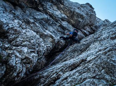 07 10 Climbing DKV in Veliki Draski vrh