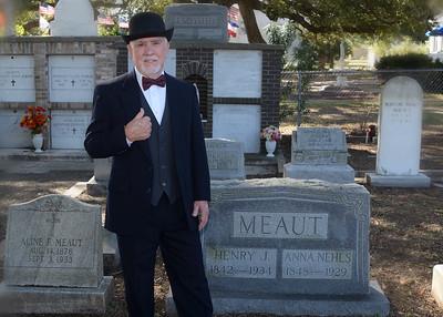 Old Biloxi Cemetery Tour 2016
