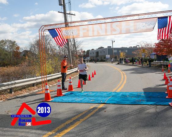 Ashland Half Marathon 2013 - 5K Finish