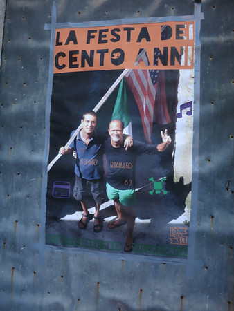 Rich's 60th bash in Italy