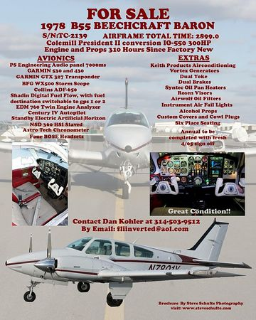 Airplanes For Sale Beech Baron