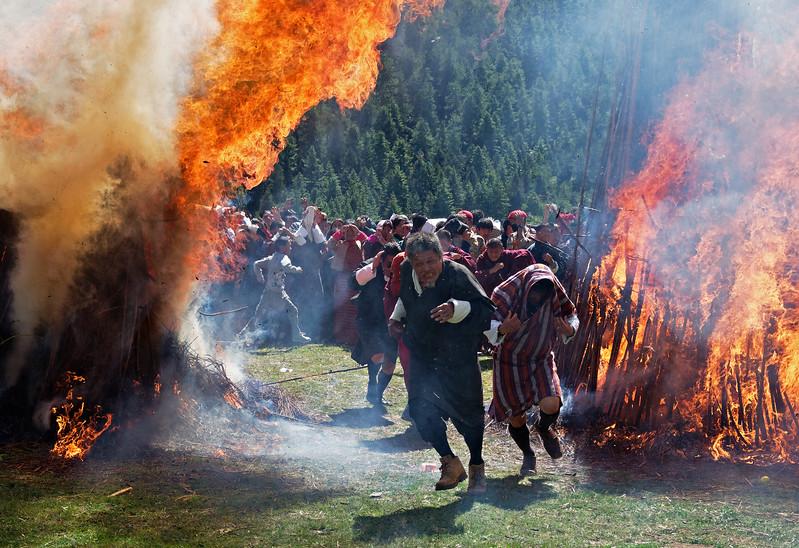 Thangbi Mani Festival AKA Fire Festival