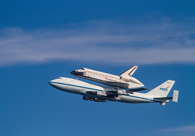 #KW-103 Space Shuttle Endeavour - Last Flight 9/20/2012 - San Francisco