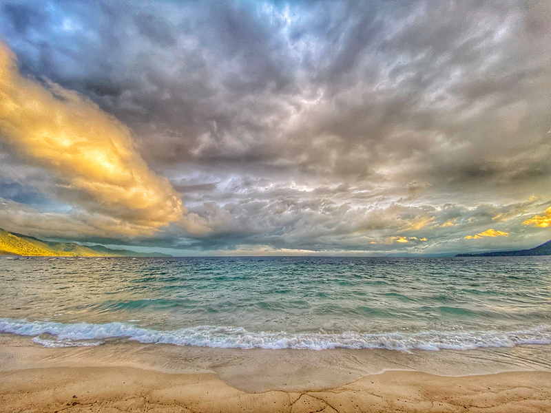 Sunset Storm, Lake Tahoe, Incline Village Beach, Incline Nevada