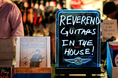 Reverend Guitar Night at Monster Music NY