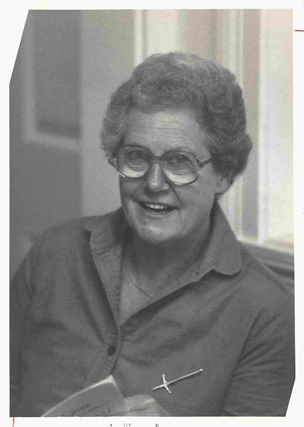 Doe, Charlotte (Chick) 1973 - 1987