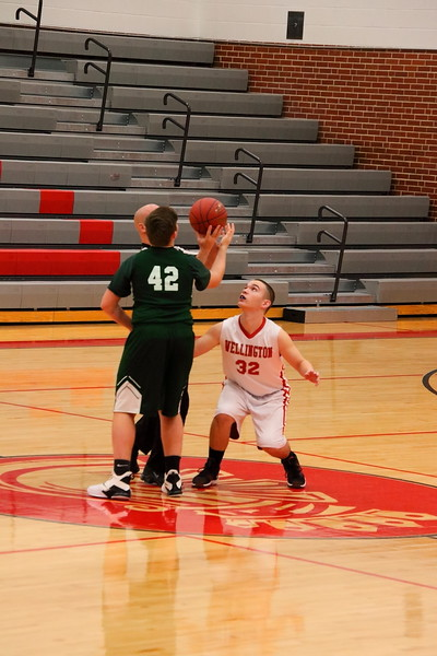 WMS 8A & 8B Boys Basketball vs Mulvane 020419