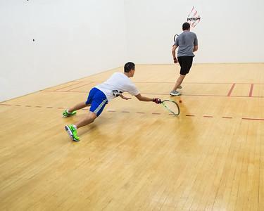 Men's Singles Open Semis Peter Appel over Miguel Nunez Jr