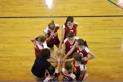 Middle School Valleyball 2008