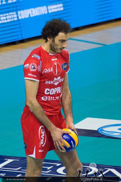 FEI Alessandro (Piacenza) con la palla