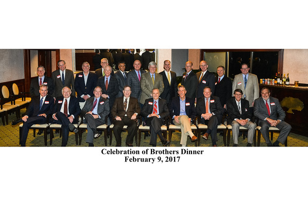 Celebration of Brothers Dinner