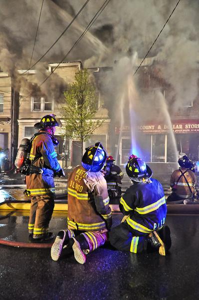 4-9-12 Wanaque, NJ Multipe Alarm Fire: 1099 Ringwood Avenue