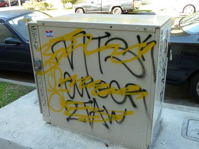 Los Angeles/Koreatown graffiti