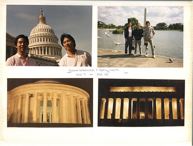 10-7 to 15-1988 Grant Nakaoka & Gary Louie visit