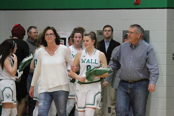 2019 Varsity Basketball Senior Night