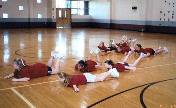 SN MS/HS Cheerleading Mini Cheer Camp 04-05