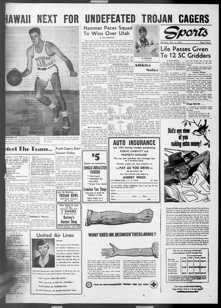 Daily Trojan, Vol. 45, No. 53, December 07, 1953