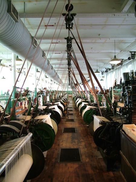 Weave Room - Boott Cotton Mill - Lowell, MA
