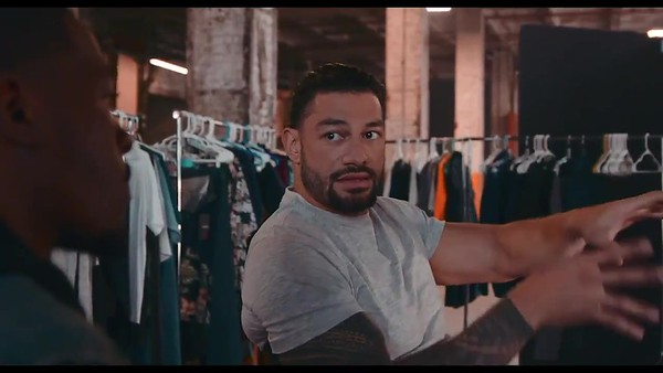 Roman Reigns - Screencaps / Behind the Scenes at the Brisk Commercial