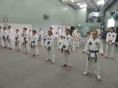 Combat Karate Grading August 2015