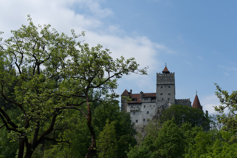 Count Dracula's Bran Castle in Sighisoara, Romania