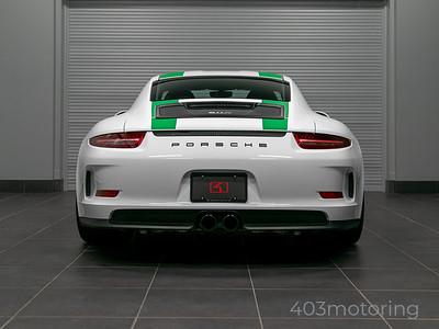 '16 911R #922 - White/Green Stripe