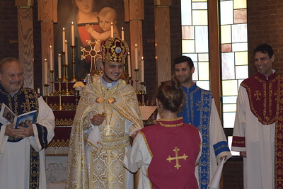 Blessing of Gabby Krikorian for her trip to Armenia