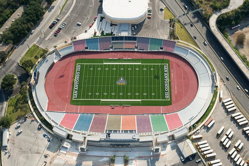 09/23/2014 093706 -- San Antonio, TX -- © Copyright 2014 Mark C. Greenberg  Alamo Stadium