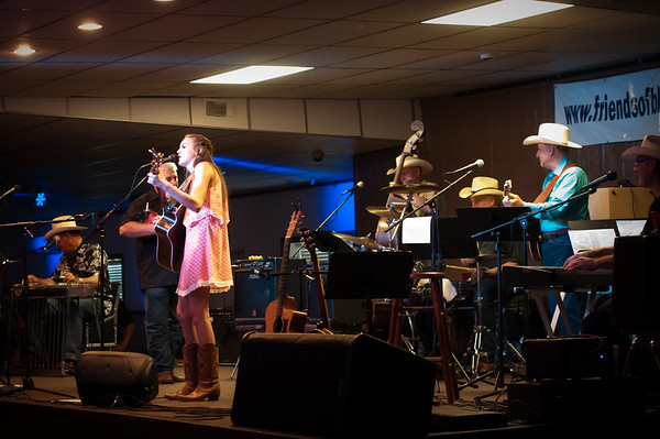 Abigail Taylor At The Bluebonnet Opry