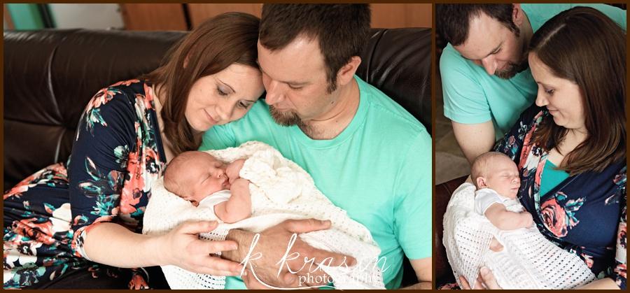 Mom + Dad + baby