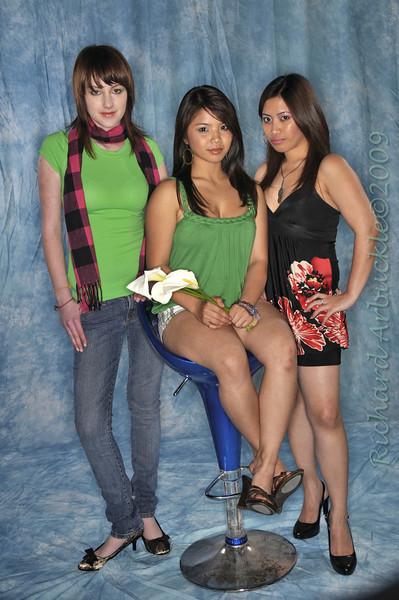 Model Shoot at The Studio SJ  3 2009