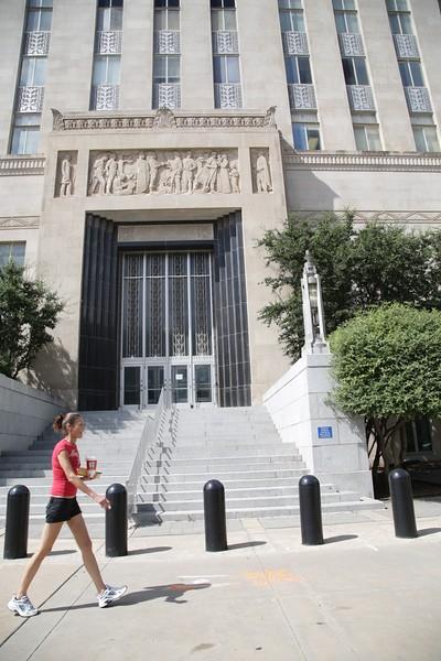 The Oklahoma County Courthouse in Oklahoma City, OK.