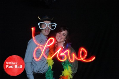 Say Cheese Photo Booths - Light Painting Gallery