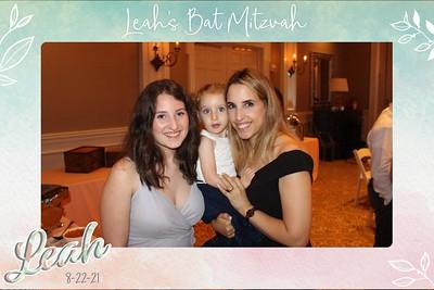 Leah's Bat Mitzvah-8/22/21