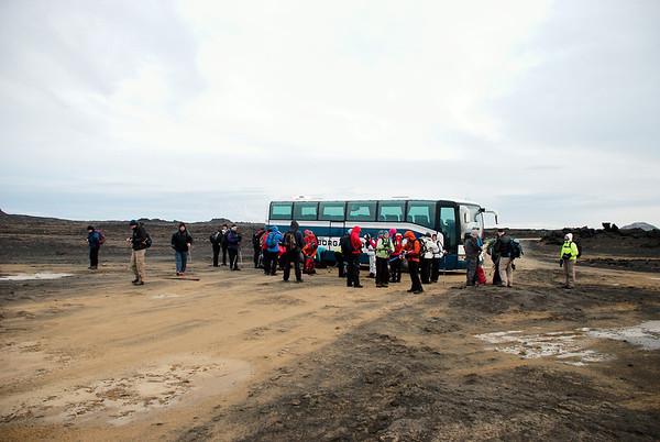 Reykjanesviti - Eldvörp 2. febrúar 2014