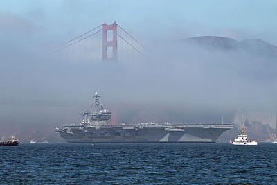 San Francisco Fleet Week 2011 - Ship Parade
