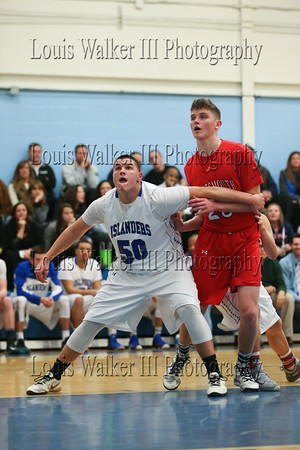 HS Basketball Portsmouth at Middletown on 2/9/16