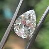 2.01ct Antique Pear Shape Diamond GIA G VS1 33