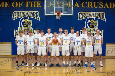 Loyola Boys BB Team Photos 2021