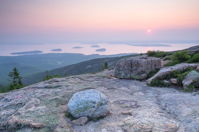 Cadillac Mountain Sunrise, Acadia National Park, Maine