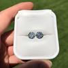 4.08ctw Old European Cut Diamond Pair, GIA I VS2, I SI1 61