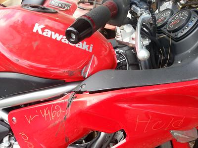 2007 Ninja 650R damage