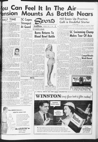 Daily Trojan, Vol. 47, No. 45, November 17, 1955