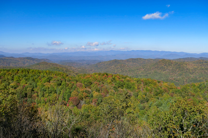 Headwaters State Forest - Dolves Mountain & Bursted Rock (10-28-18)