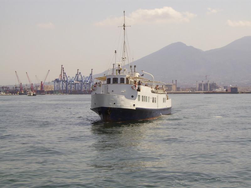 2007 - F/B ALA arriving to Napoli.